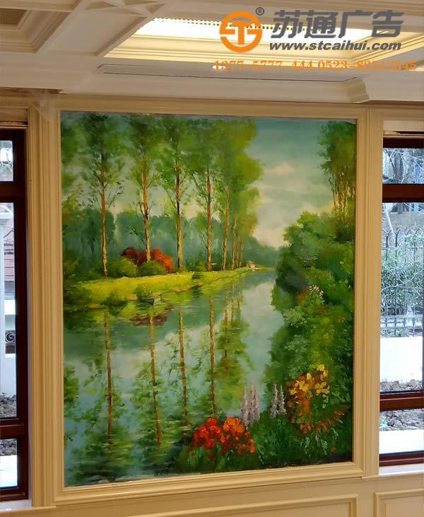 手工墙体彩绘,墙体彩绘价格,手绘墙体广告,涂鸦墙绘广告__1513750126310925