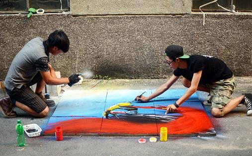手工墙体彩绘_墙体彩绘价格_手绘墙体广告_涂鸦墙绘广告_江苏苏通彩绘有限公司